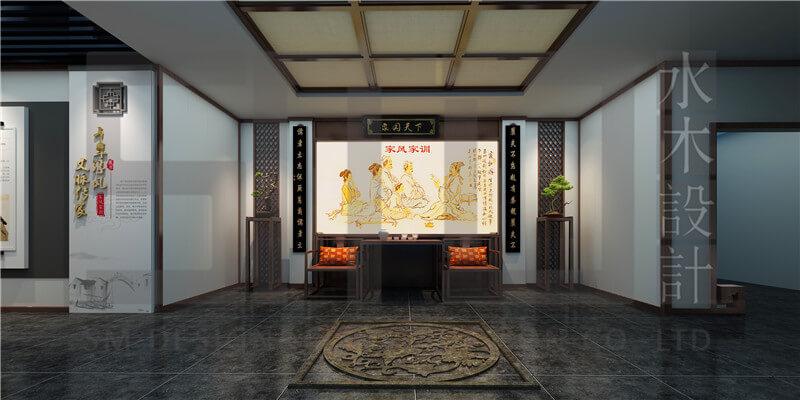 网站优化是做什么的_高新区家风家训展示馆_展馆设计,企业展厅,纪念馆设计为客户 ...